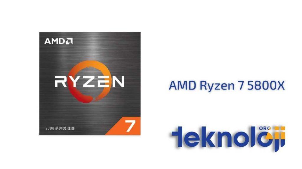 AMD Ryzen 7 5800X en iyi işlemci