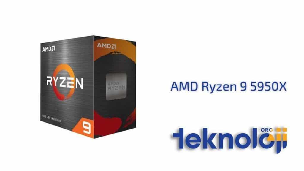 AMD Ryzen 9 5950X en iyi işlemci