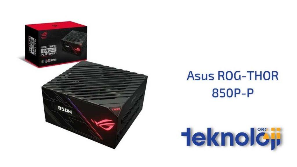 Asus ROG-THOR-850P-P En İyi Güç Kaynağı
