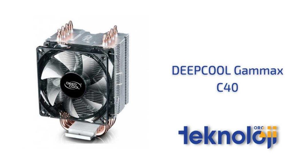 DEEPCOOL Gammax C40