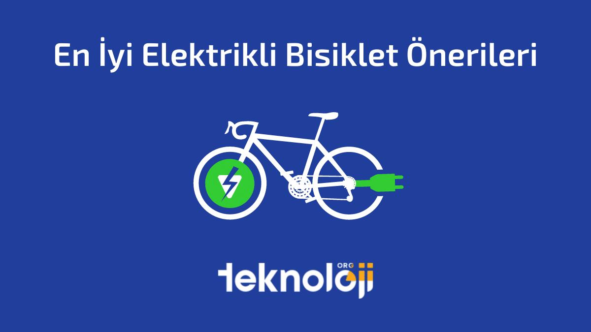 En İyi Elektrikli Bisiklet Önerileri