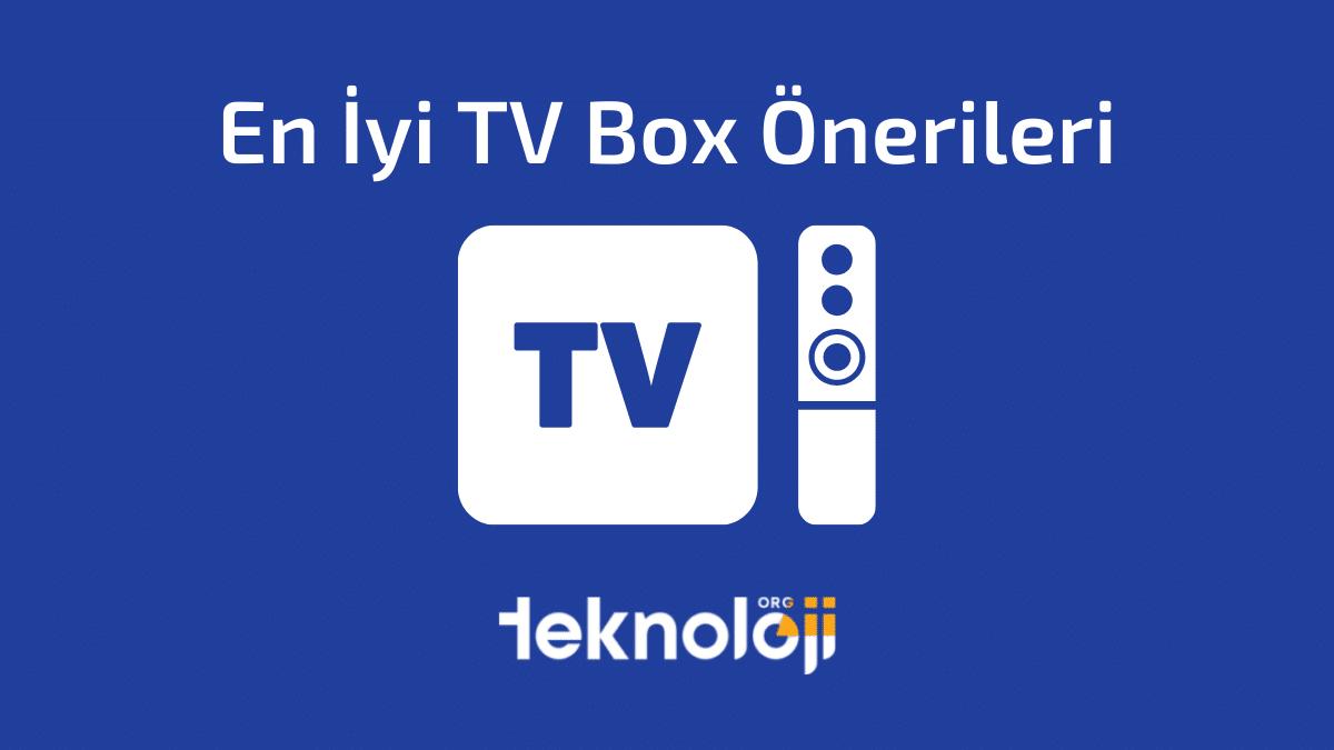 En İyi TV Box Önerileri