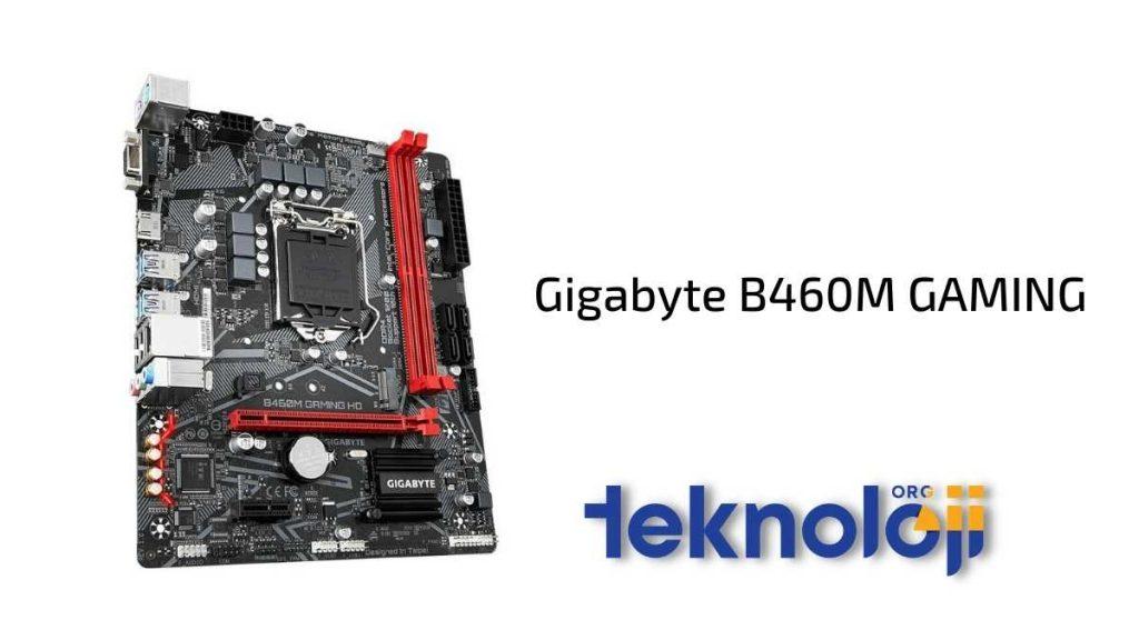 Gigabyte B460M GAMING