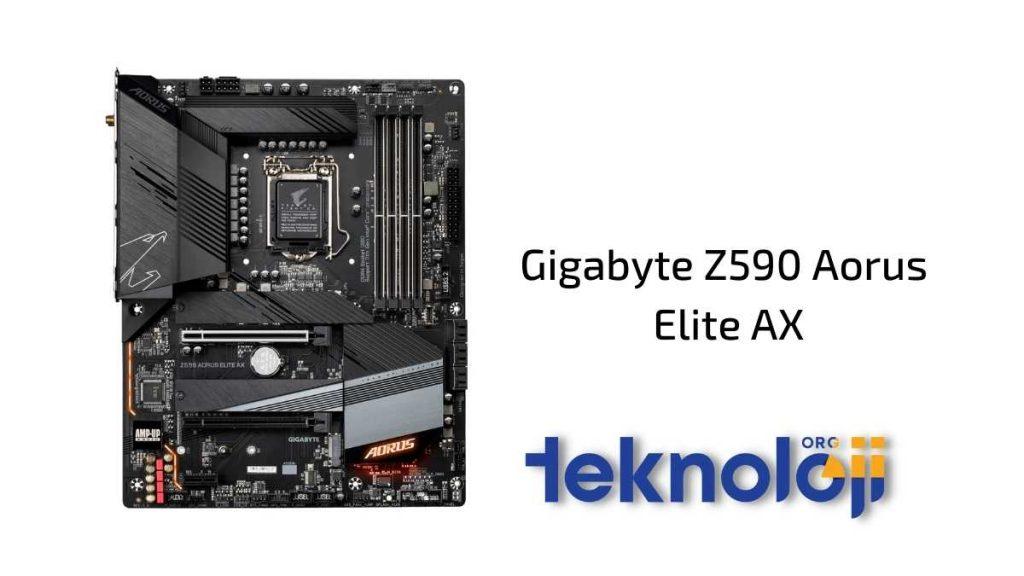 Gigabyte Z590 Aorus Elite AX