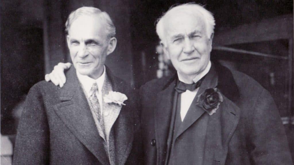 Henry Ford ve Thomas Edison