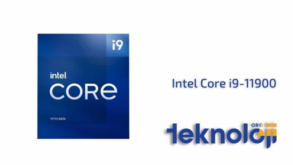 Intel Core i9-11900 en iyi işlemci