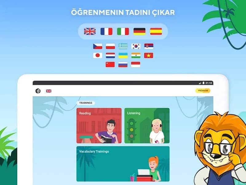 Lingualeo dil öğrenme uygulamaları