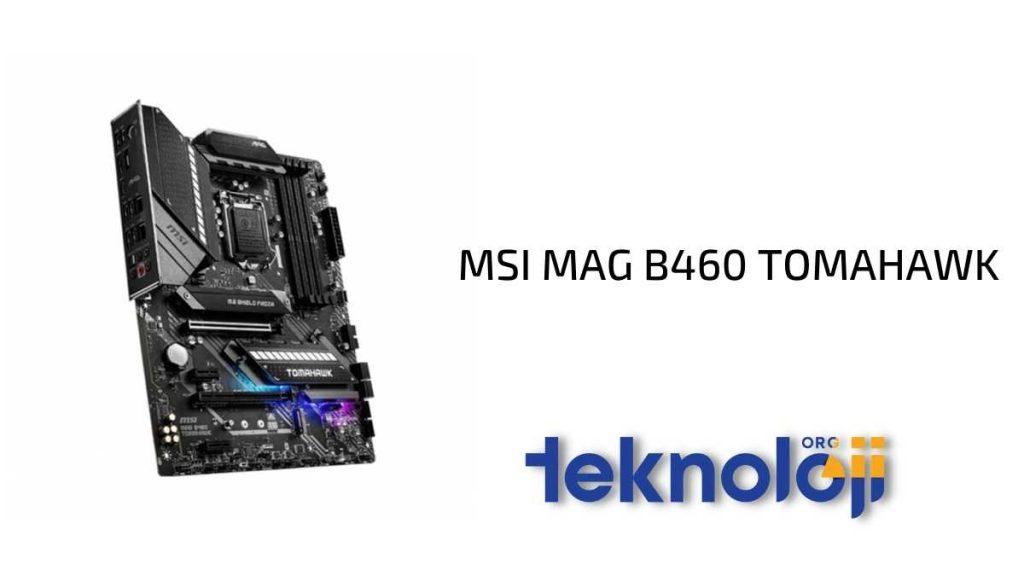 MSI MAG B460 TOMAHAWK