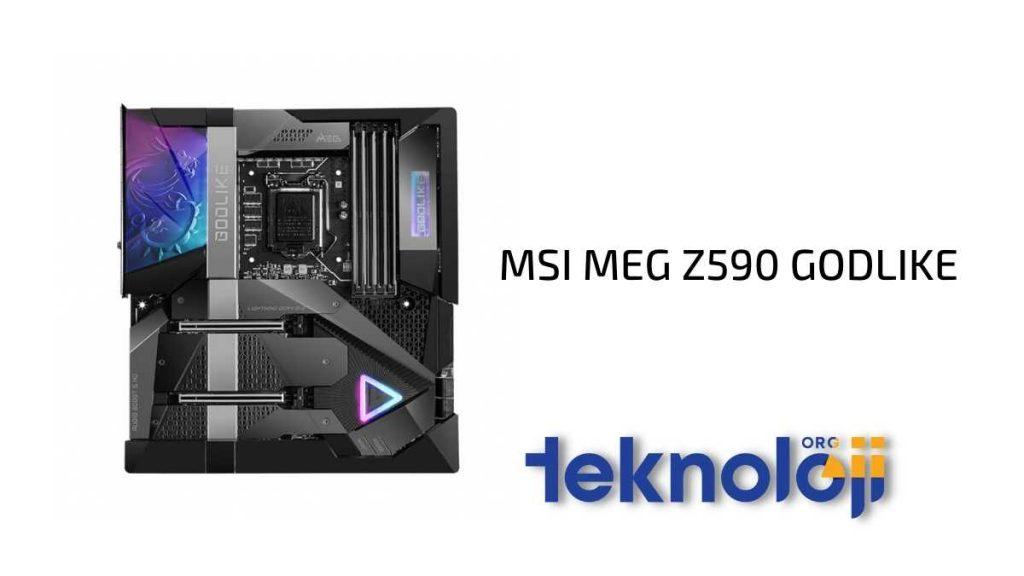 MSI MEG Z590 GODLIKE