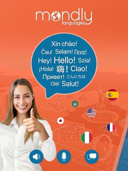 Mondly dil öğrenme uygulamaları