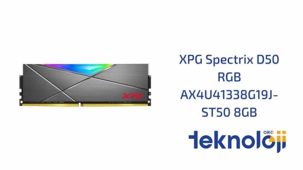 XPG Spectrix D50 RGB AX4U41338G19J-ST50 8GB