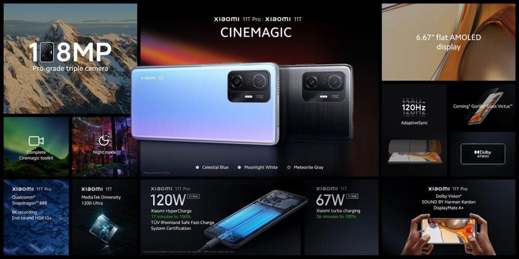 Xiaomi 11T Serisi Özellikleri