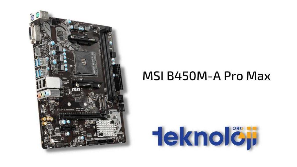 en ucuz anakart MSI B450M