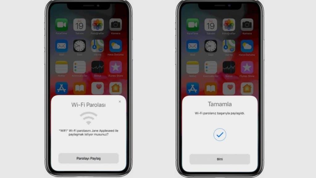 iPhone-ile-wifi-sifre-paylasma