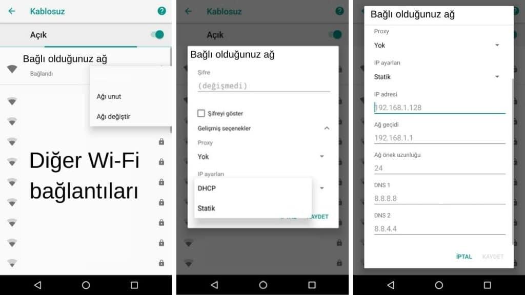 Android-dns-ayarlari-nasil-degistirilir