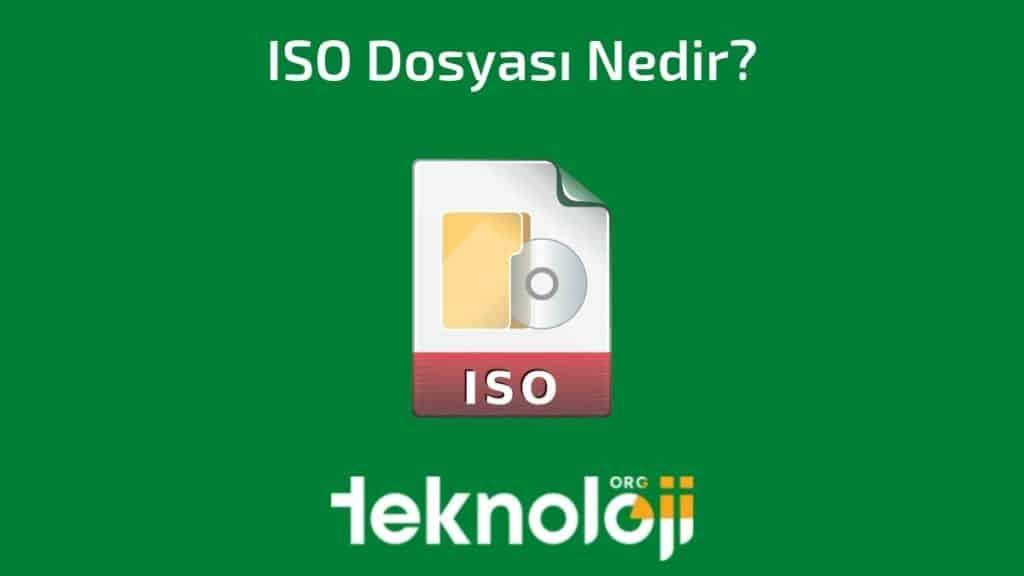 ISO Dosyası Nedir