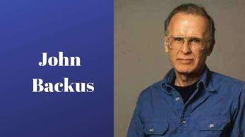 John Backus: İlk Üst Düzey Programlama Dilinin Mucidi