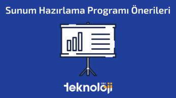 Sunum Hazırlama Programı Önerileri – 2021