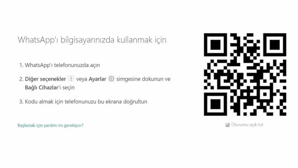 Whatsapp-web-qr-kod