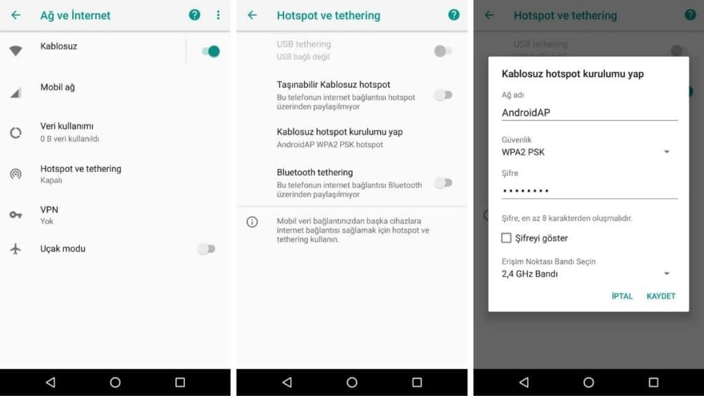 android-internet-paylasimi-nasil-yapilir