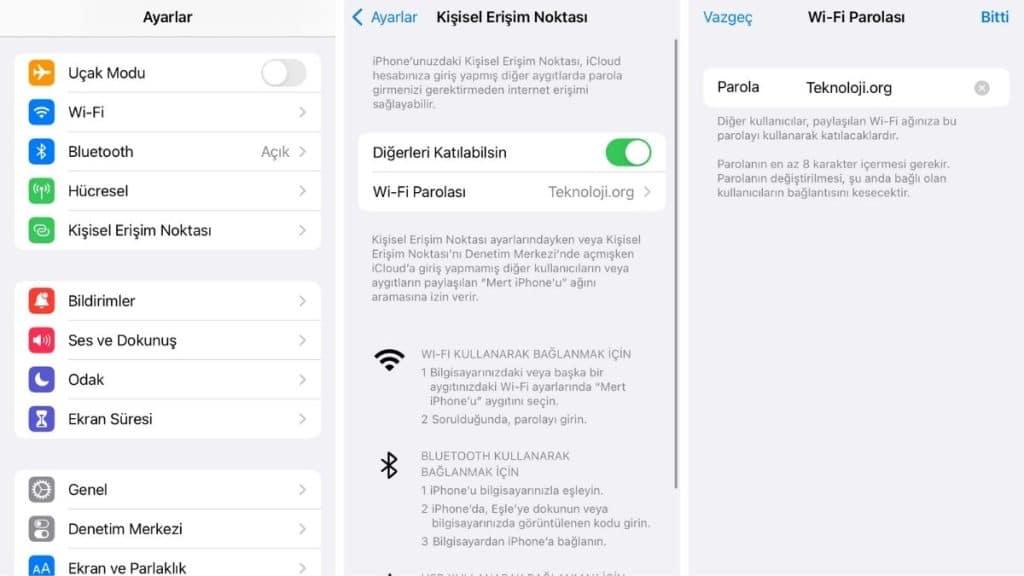 iphone-internet-paylasimi-nasil-yapilir
