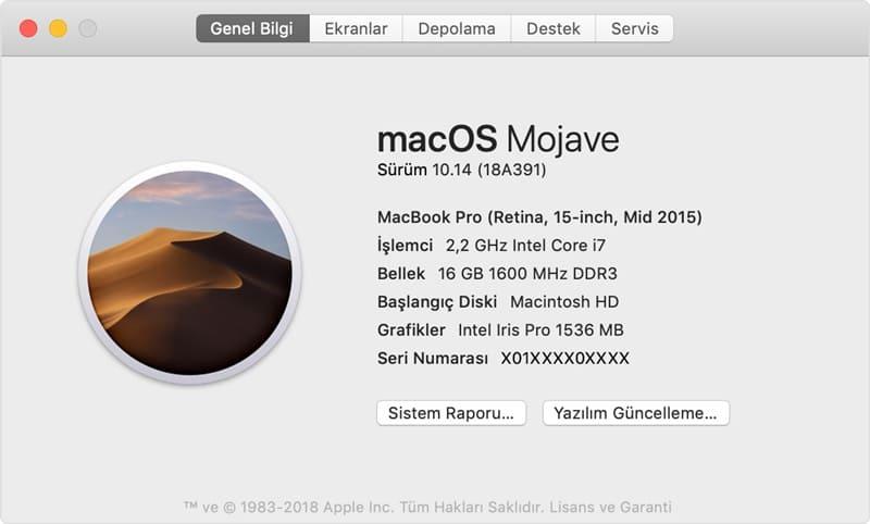 macOS için Programsız Ekran Kartı Güncelleme Yöntemi